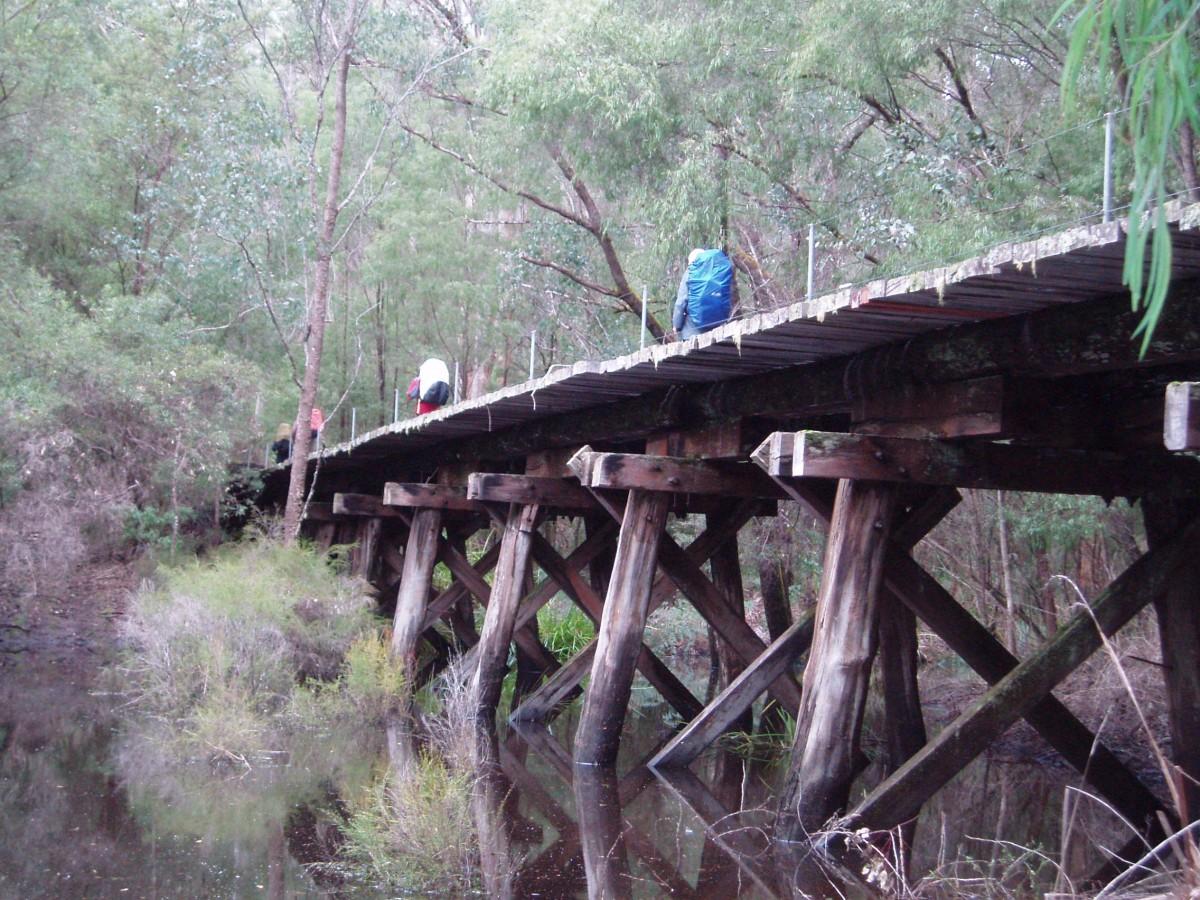 Bridge The Gap Timber Bridges Appeal Ways To Give Bibbulmun Track